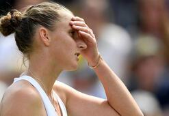 Dünya 3 numarası Pliskova, Wimbledondan elendi