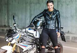 Survivor Sabriyenin motosiklet tutkusu Binlerce beğeni aldı