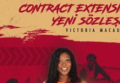 Galatasaray, Victoria Macaulay ile sözleşme yeniledi
