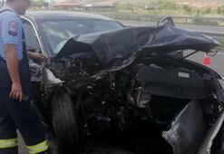 AK Partili Cahit Özkan kaza geçirdi