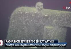 Norveçte batan Sovyet denizaltısı yüksek seviyede radyasyon yayıyor