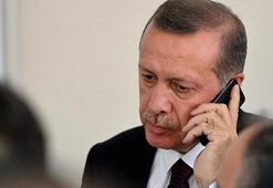 Cumhurbaşkanı Erdoğan şehit babasıyla görüştü