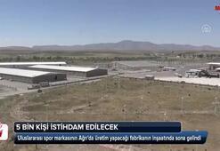 Cumhurbaşkanı Erdoğanın müjdelediği fabrikada sona doğru