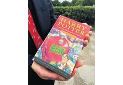 Harry Potter'ın ilk baskısı açık artırmada