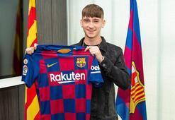 Barcelonaya 16lık genç yetenek