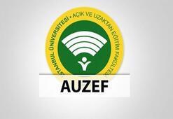 AUZEF sınav sonuçları açıklandı Sınav sonucu sorgula