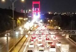 Bakan açıklamıştı Ve trafiğe açıldı...