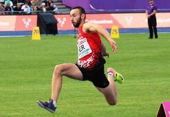 Necati Er, altın madalya kazanarak olimpiyat barajını geçti