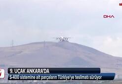 9. uçak Ankarada