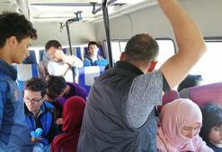 Çanakkale'de 24 kaçak göçmen yakalandı