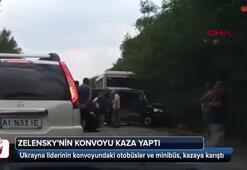 Zelenskynin konvoyu kaza yaptı