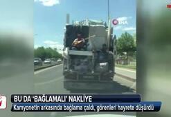 Diyarbakır'da 'bağlamalı' nakliye