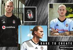 Beşiktaşın yeni sezon formaları görücüye çıktı
