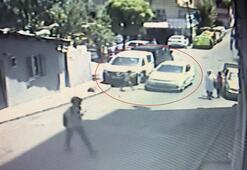 Şişli'de kadın sürücünün küçük kıza çarptığı an kamerada