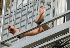Balkonda cinsel ilişki feci sonla bitti Dokuzuncu kattan düştüler