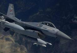 Yerli bombalarla vuruldu... PKK hedefleri yerle bir