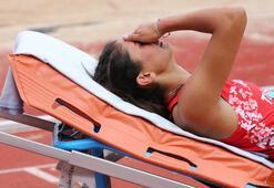 Milli atlet Şevval Ayaz hastaneye kaldırıldı