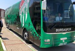 Bursaspor, haczedilen takım otobüsünü geri aldı