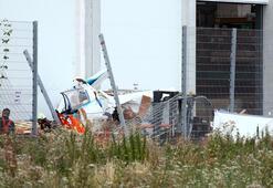 Almanyada küçük uçak düştü: 3 ölü
