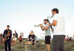 Bozcaada'da doğayla iç içe festival