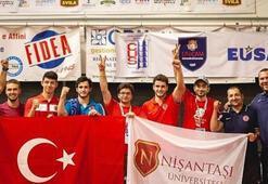 Nişantaşı Üniversitesi masa tenisinde üst üste 2nci kez Avrupa şampiyonu