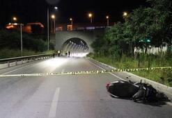 Tünel çıkışında feci kaza