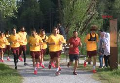 Galatasaray hazırlıklarını sürdürdü