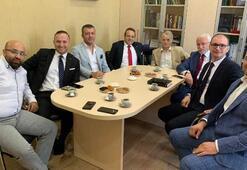 Kırım Türkleri lideri Cemiloğlu'na ilk tebrik ziyareti Egemen Bağış'tan