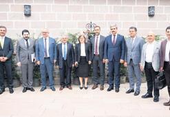 Belediye sorunları Ankara'da görüşüldü