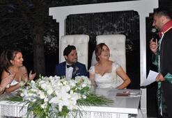 İngiliz gelin düğünde gözyaşlarını tutamadı