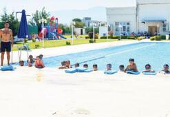 Sosyal tesislere, yaz aylarında yoğun ilgi