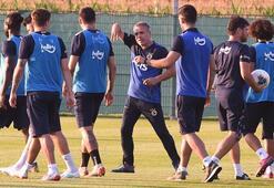 Fenerbahçe sıcak havada çalıştı