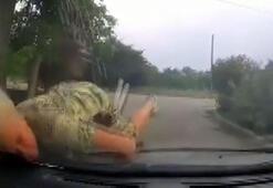 Polis aracına çarpan bisikletli yaşlı kadın cezadan kaçamadı