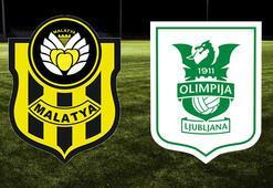 Yeni Malatyaspor Olimpija Ljubljana maçı ne zaman saat kaçta hangi kanalda İlk 11ler...