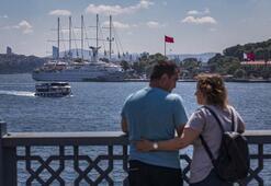 Dev yolcu gemisi İstanbula yanaştı