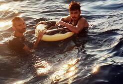 Ölümcül kaçış Denizin ortasında bu halde yakalandılar
