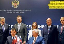 Rusya'yla ticarette hedef 100 milyar $
