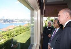 Cumhurbaşkanı Erdoğan, Malezya Başbakanı ile bir araya geldi