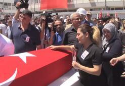 Adıyamanda şehit polis Taha Uluçay için tören düzenlendi