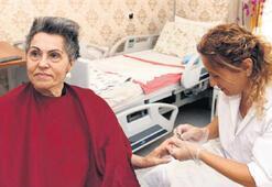 Yaşlı ve engellilere  kuaför bakım hizmeti