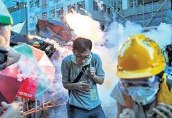 İzinsiz protestoya sert müdahale