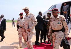 Sisi, Sudanlı generali Kahirede kabul etti