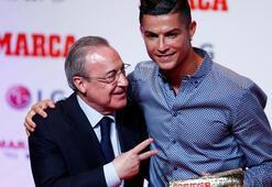 İspanyadan Cristiano Ronaldoya efsane ödülü