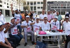 Antalya Büyükşehir Belediyesindeki grev kararı