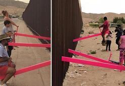 Meksika - ABD sınırına bunu yaptılar