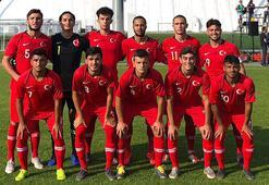 19 Yaş Altı Milli Takımı, Belarusu 2-1 yendi
