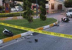 İstanbulda motosiklet kazası 1 ölü, 1 yaralı