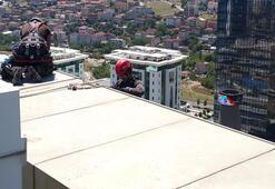 Yer: İstanbul... Yerli örümcek adamlar iş başında