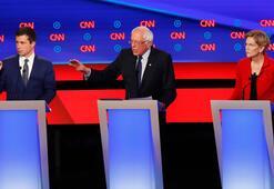 ABDde Demokrat başkan aday adayları canlı yayında kapıştı