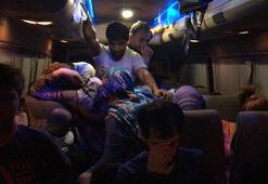 Çanakkale'de 54 mülteci yakalandı